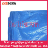 Couleur blanche bâche de protection de PE de tissu de tente d'allégement de 4m x de 5m Unhcr/Un avec le logo d'impression