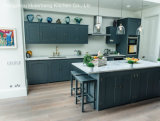 A manufatura 2016 a mais atrasada da cozinha do projeto da madeira contínua de Welbom