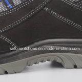 Sapatas de segurança de couro RS6128 de Nubuck