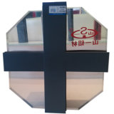 Escaparate/marco invisible puesto en unidades/de Visiable/perfil de aluminio de cristal de la protuberancia de la pared de cortina de la estructura