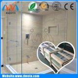 Fornecedor de vidro liso de Frameless & curvado Home da tela da parede Tempered do chuveiro