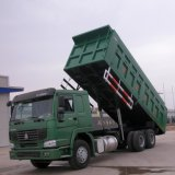 Sinotruk HOWO 6X4のダンプトラックのダンプカートラック
