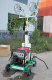 Torretta chiara di progetto Emergency superiore con il generatore