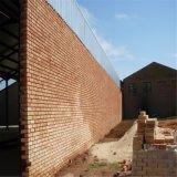 Kits de construction préfabriqués en métal avec mur de briques