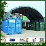 Проектированное укрытие контейнера