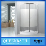 Königin-Bad Glasdusche-Bildschirm, Showerroom, Dusche-Kabine