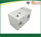 Части CNC части филировальной машины хорошего качества алюминиевой подвергли механической обработке точностью, котор