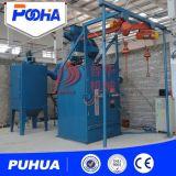 Tipo macchina doppia o singola di granigliatura di prezzi poco costosi ad uncino della macchina di granigliatura/macchina doppia o singola del gancio di granigliatura
