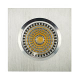 Aluminium GU10 MR16 LED enfoncée fixe carrée Downlight (LT2001) de tour