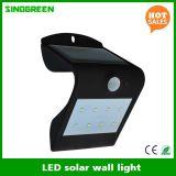 LEDのセンサーLEDの壁ライトRoHSの太陽壁ランプのスマートな太陽及びセリウム