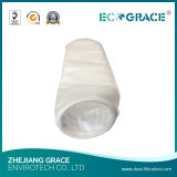 Saco de filtro líquido líquido industrial de pano de filtro do poliéster da filtragem