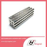 Imán permanente de NdFeB del disco con proceso de fabricación de alta calidad