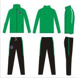 Логос Ambroidered Tracksuit сплошных цветов сублимированный краской для клубов футбола