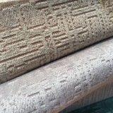Tissu jacquard velours tricot tricoté avec deux tons de sol pour meubles (BL071)