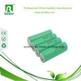 Lithium-Ionensammlerzellen 18650 3.6 Volt 3100mAh NCR18650A für Taschenlampen