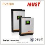 1kw/2kw/3kw/4kw/5kw outre d'inverseur solaire hybride de grille avec la construction solaire de MPPT Controler à l'intérieur