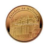 Commercio all'ingrosso antico della moneta di sfida di buona qualità del commercio all'ingrosso dell'oro