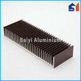 Aluminio caliente del perfil del estilo de la venta como disipador de calor de la computadora