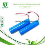 18650 cellule rechargeable de batterie au lithium de 3.7V 2000mAh pour l'éclairage LED