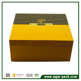 Caixa de charuto de madeira do armazenamento customizável por atacado