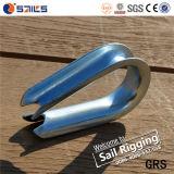 Cilindro porta caratteri della fune metallica di Galvanied DIN6899A del acciaio al carbonio