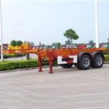 CCC ISOは2車軸20ft平面の容器のトラックのトレーラーを承認した