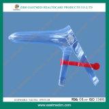 Espéculo vaginal estéril aprobado por CE y ISO con tornillo lateral