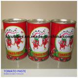 molho do tomate de 70g-4500g China venda quente/pasta de tomate enlatados