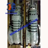 Válvula de puerta eléctrica del borde del acero de carbón del API/del agua de Wcb