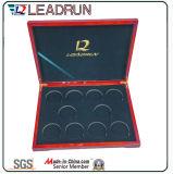 기장 수집 케이스 메달 선물 기념품 기념 동전 상자 EVA 삽입 팩 상자 (D10)
