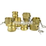 Acoplador del Camlock/bloqueo de cobre amarillo de la leva