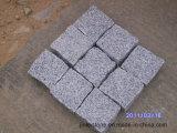 花こう岩の立方体の敷石の玉石の外部の立方敷石Cubestone