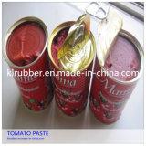 pasta de tomate vegetal enlatada padrão de 400g Europa