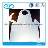 Tablier en plastique remplaçable de plastique de PE de vente chaude