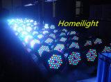 클럽 당 램프 디스코 음악 빛 당을%s 램프가 8PCS 54 X 3W RGB 동위에 의하여 점화한다