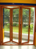 Portes en verre Bi-Se pliantes d'aluminium (z70)