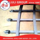 Cerca y puertas de aluminio negras revestidas de piquete del polvo del surtidor de China