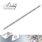 Het Kristal van de Juwelen van het lot van het Geven Swarovski de Hete Armband van de Verkoop