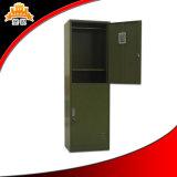 جيش اللون الأخضر اثنان أبواب خزانة مع علاّق ورصيف صخري لأنّ جيش