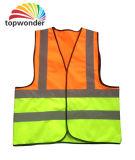 Personalizar a veste reflexiva colorida dobro da segurança, vestuário reflexivo da segurança, roupa reflexiva da segurança