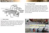 Máquina de mineração aluvial completa pequena do estanho do baixo custo, equipamento de mineração da tabela do concentrado da gravidade para a separação aluvial do estanho