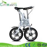 16インチの単一の速度折る都市バイクのアルミ合金の折る自転車