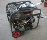 5kw/5kVAセリウム、Fd6500eが付いている電力220/380V電気ガソリン発電機
