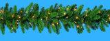 Guirlanda de pinho espumante pré-iluminada com 100 luzes incandescentes claras (MY205.445,00)
