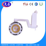 Black White Housing 20W COB LED Track Light