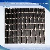 Estrutura Forte Heavy Duty Latão 304 316 Stainless Steel Weave Mesh Embreado Para Venda