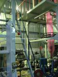 Máquina doble de la protuberancia de la película del PE del color Sj-50*2