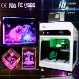 2d 3D Photo Crystal Cube Laser Inner machine de gravure (HSGP-2KC)