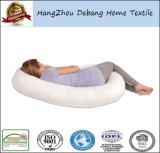 綿カバーが付いている工場価格の卸売の妊娠ボディサポート枕