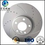 Disco do freio para a venda pelo GV dos Ts do ISO